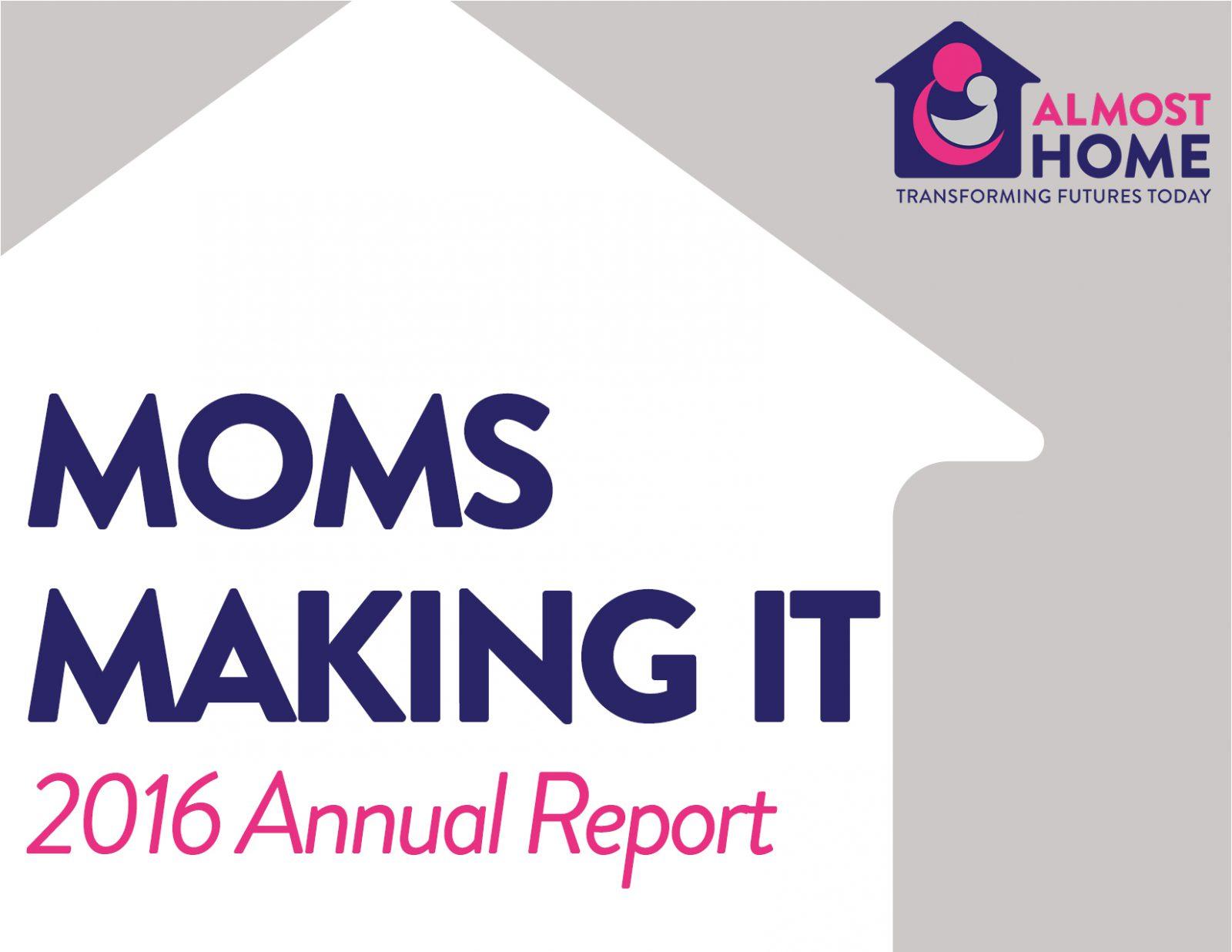 2016 Annual Report Cover Photo